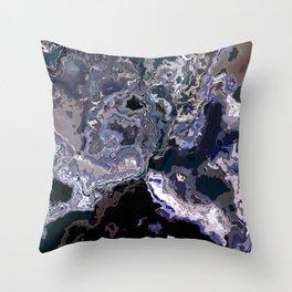 marble texture Throw Pillow