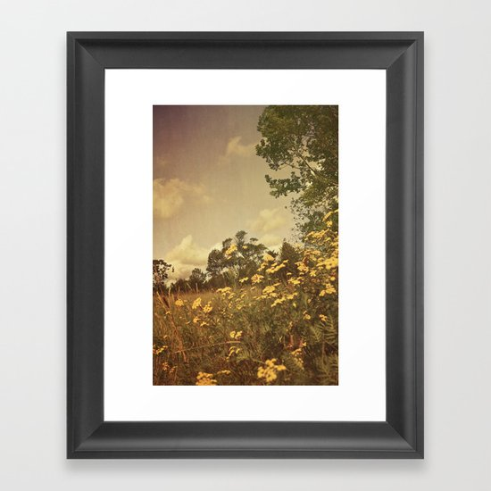 Summer Whimsy Framed Art Print