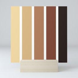 Stripes Pattern No.19 Mini Art Print