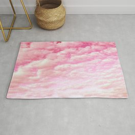 Cotton Candy Sky Soft Pink Rug