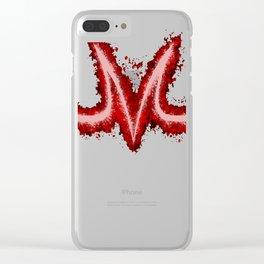 Majin splatter Clear iPhone Case