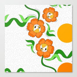 Cagney Carnation Canvas Print
