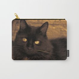 Golden Eyed Kitty Carry-All Pouch