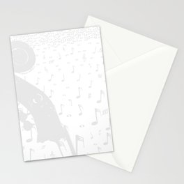 Classical Music Background Stationery Cards