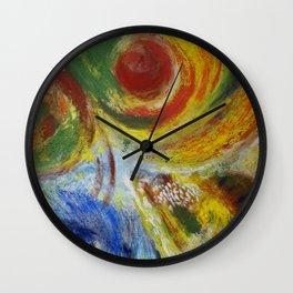 """""""Las cuatro estaciones"""" Wall Clock"""