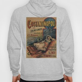 Constantinople Italian vintage book advertisement Hoody
