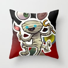I Heart Mummy Throw Pillow