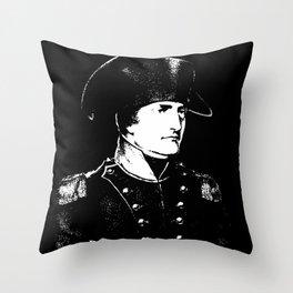 Napoleon Bonaparte Throw Pillow