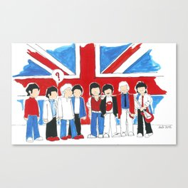 Les Petits Great Britain Canvas Print