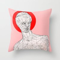 venus Throw Pillows featuring Venus by Richard Winters