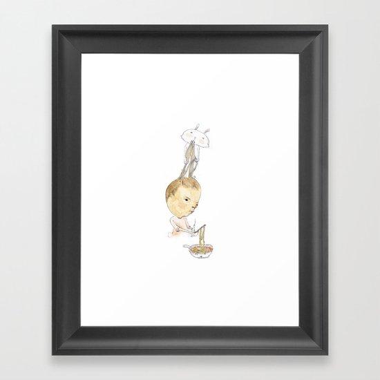 Ra-men Framed Art Print
