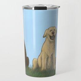 Augie Photo Bomb Travel Mug