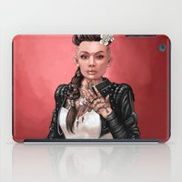 mass effect iPad Cases featuring Mass Effect - Jack's Wedding by Amber Hague