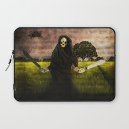 Death loves you Laptop Sleeve
