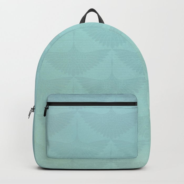 Blue Magnolia Lady Backpack