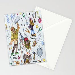 Men of Tools Stationery Cards