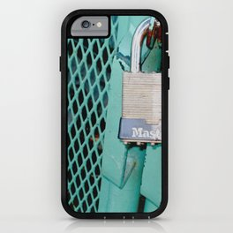 Behind Locked Gates iPhone Case