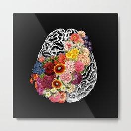 Love Your Brain Metal Print