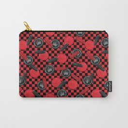 Checkers Game Carry-All Pouch