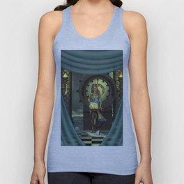 Mystical world, beautiful fairy Unisex Tank Top