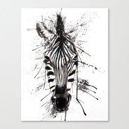 Zebraish Canvas Print