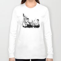 band Long Sleeve T-shirts featuring The Band by maxandr