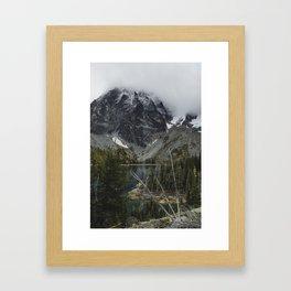 Alpine Lake in Washington Framed Art Print
