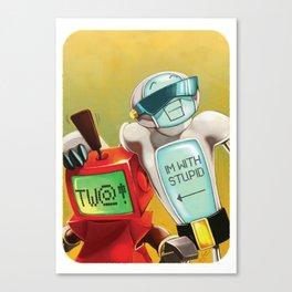 Tw@t! Canvas Print