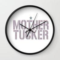 rupaul Wall Clocks featuring MotherTucker by Francine Oliveira