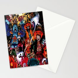 halloween one piece Stationery Cards
