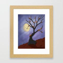 The Halloween Tree Framed Art Print