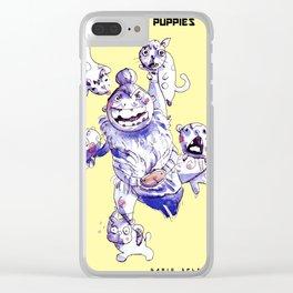 Master of Puppies - Dario Splendido Clear iPhone Case