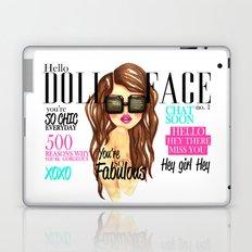 Doll Face Laptop & iPad Skin