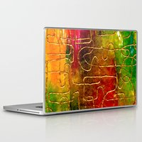 labyrinth Laptop & iPad Skins featuring Labyrinth by Chicca Besso