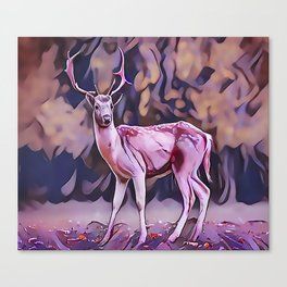 The Red Deer Canvas Print