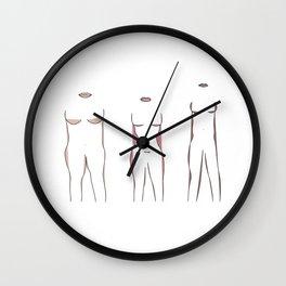 bodies Wall Clock
