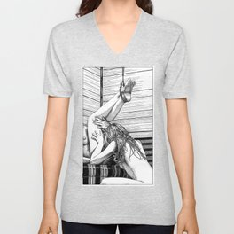 asc 685 - Les jambes en l'air (Tonight so high with you) Unisex V-Neck