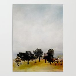 Group of Trees Poster