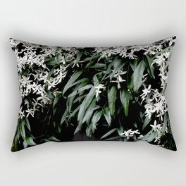 Clematis Armandii Rectangular Pillow