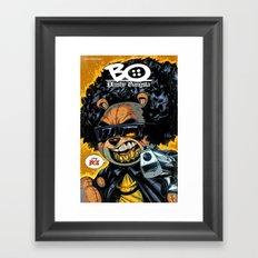 Bo: Plushy Gangsta new art print Framed Art Print
