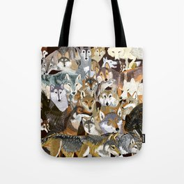 Wolves o´clock (Time to Wolf) Tote Bag