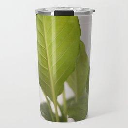 Hojas verdes (2) (green leafs) Travel Mug