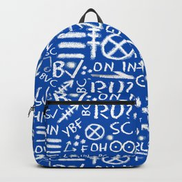 Holiday Chalk Talk in Blueprint Backpack