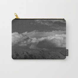 Virgin Mountains - B & W Carry-All Pouch