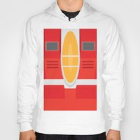transformers Hoodies featuring Starscream Transformers Minimalist by Jamesy