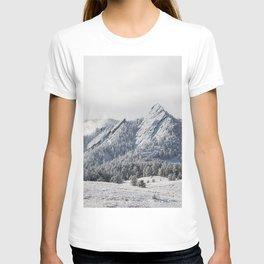 Frosty Flatirons T-shirt