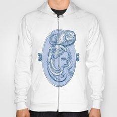 Octopus/girl in blue Hoody