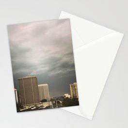 Stormy evening in Phoenix Arizona Stationery Cards