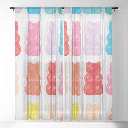 Gummy Bears Sheer Curtain