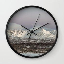 The Mountain An Teallach at Dawn Wall Clock